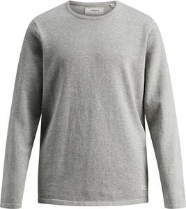 PRODUKT Tröja, Light Grey Melange