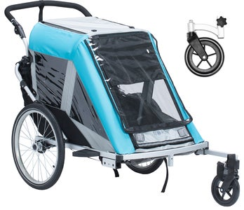 North 13.5 Roadster+ med Stroller Wheel och Regnskydd, Blå