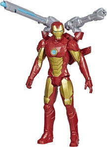 Marvel Avengers Titan Hero Figur Iron Man Blast Gear