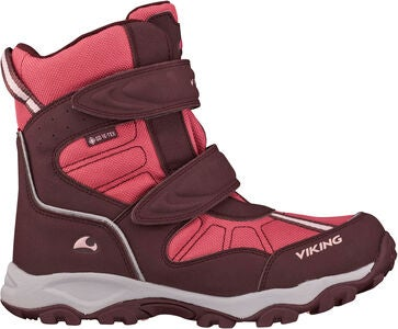 Viking Bluster II GTX Vinterkänga, Wine/Red