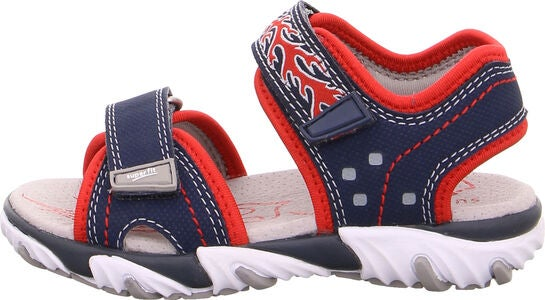 Superfit Mike2 Sandal, Blue/Red
