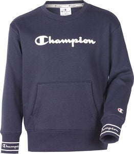 Champion Kids Crewneck Tröja, Sky Captain