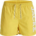 Jack & Jones Cali Badshorts, Vibrant Yellow