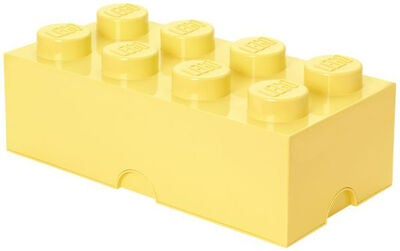LEGO Förvaring 8 Design Collection, Cool Yellow