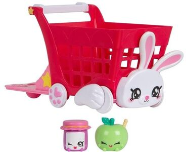 Kindi Kids Snack Time Friends Shopping Cart