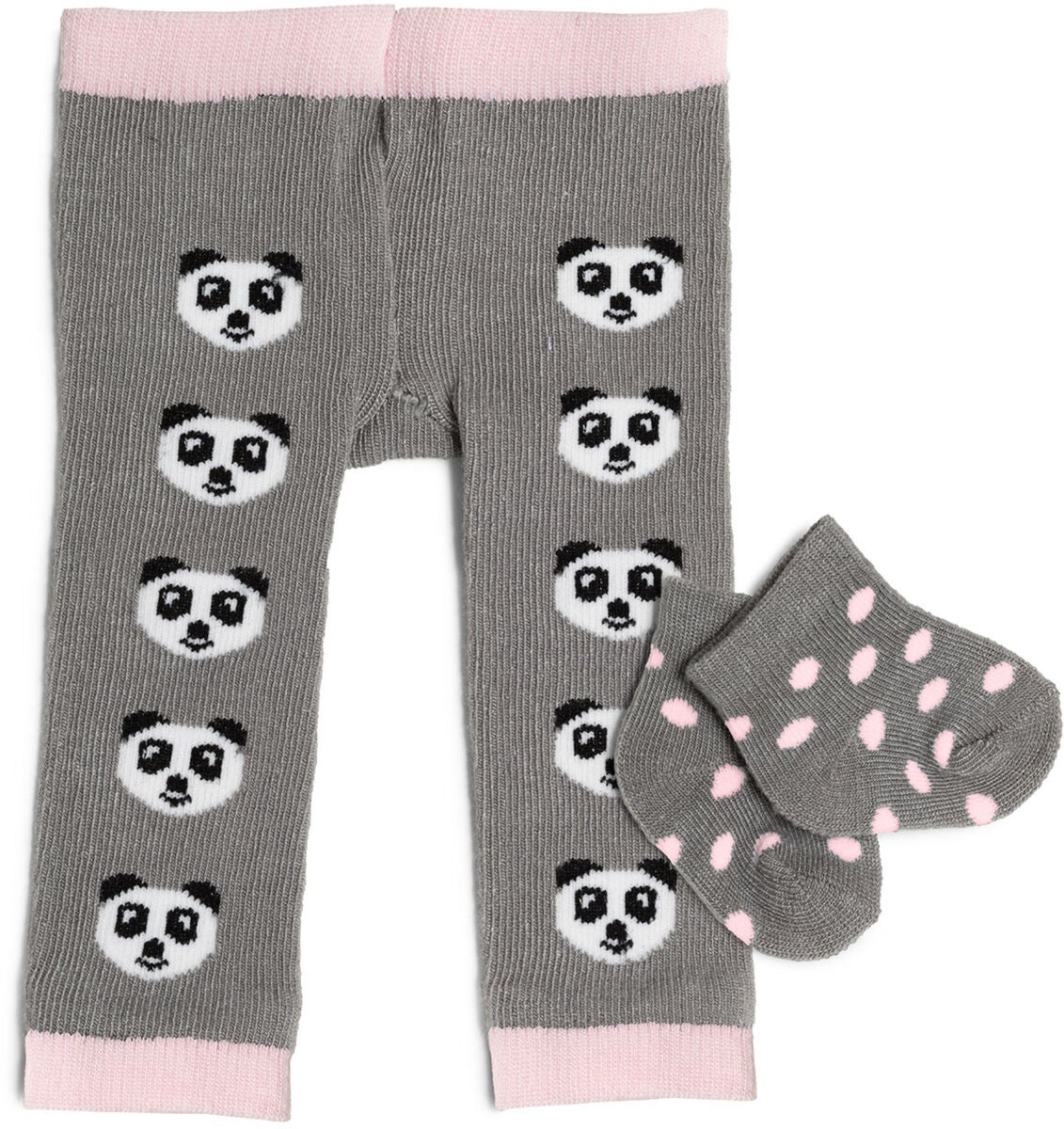 Köp Skrållan Dockkläder Tights Och Strumpor Panda, GråRosa