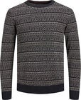 Jack & Jones Deep Knit Tröja, Caviar