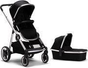 Beemoo Twin Travel+ 2019 Duovagn, Black