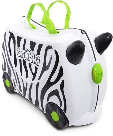 Trunki Zimba The Zebra Resväska 18L, White
