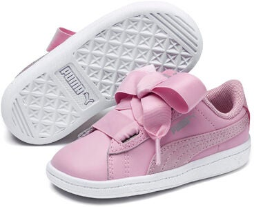 Puma Vikky Ribbon Satin AC PS Sneaker, Pink