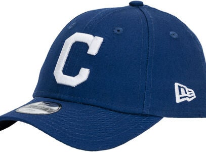 New Era MLB 9Forty Kids Cleveland Indians Keps, Dark Royal/White
