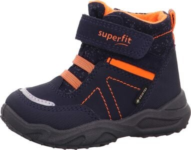 Superfit Glacier GTX Vinterkänga, Blue/Orange
