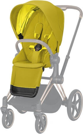 Cybex Priam Duovagn, Mustard Yellow/Chrome Black