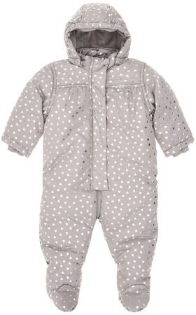 Name it Newborn Overall Maria, Frost Gray
