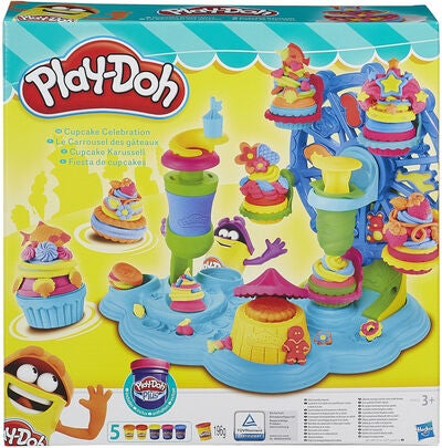 Play-Doh Cupcakes