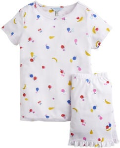Tom Joules Pyjamas, White Fruit