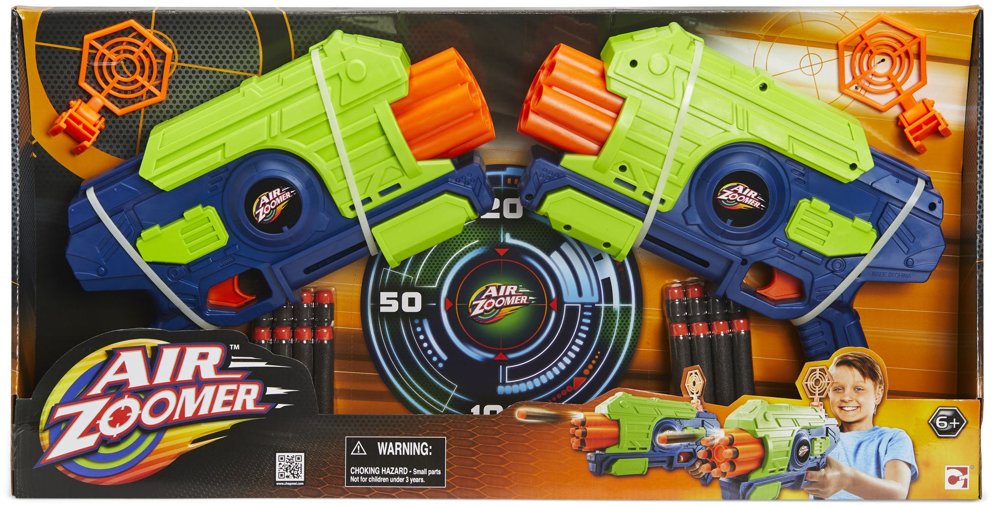 Air Zoomer Dart Blaster 2-Pack