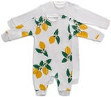 Tiny Treasure Maxime Jumpsuit 2-Pack, Snow White