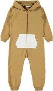 Name it Sini Jumpsuit, Bone Brown