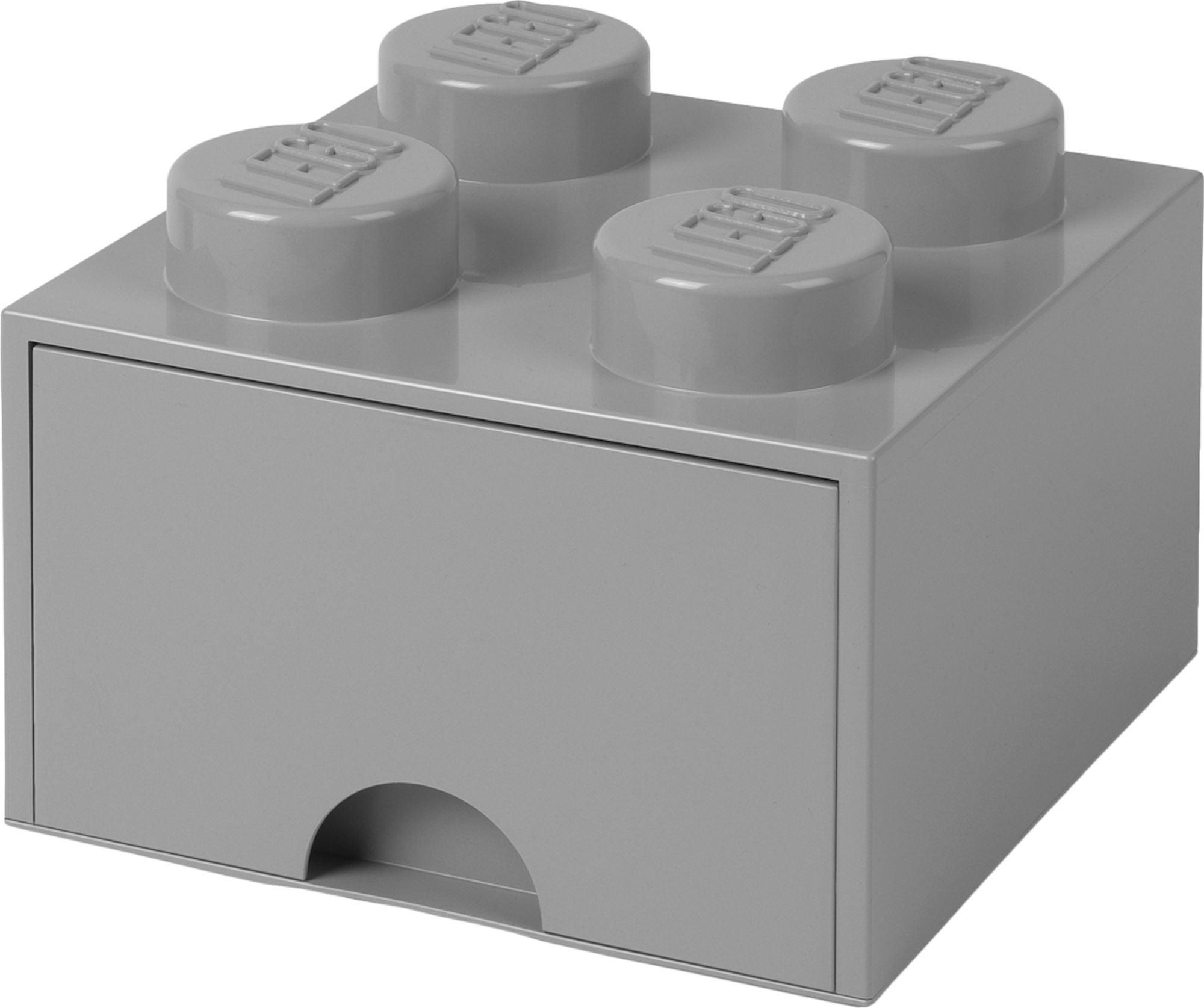 LEGO Förvaring med låda 4, Grå