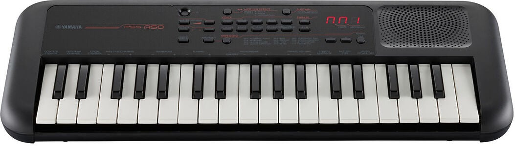 Yamaha PSS-A50 Keyboard Mini, Svart