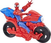 Marvel Spider-Man Titan Power Pack Cycle Och Figur 30 cm