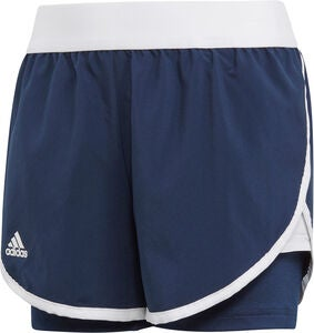 Adidas Girls Club Shorts, Navy