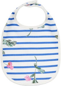 Tom Joule Bib, White Stripe Floral