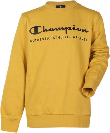Champion Kids Crewneck Tröja, Lemon Curry