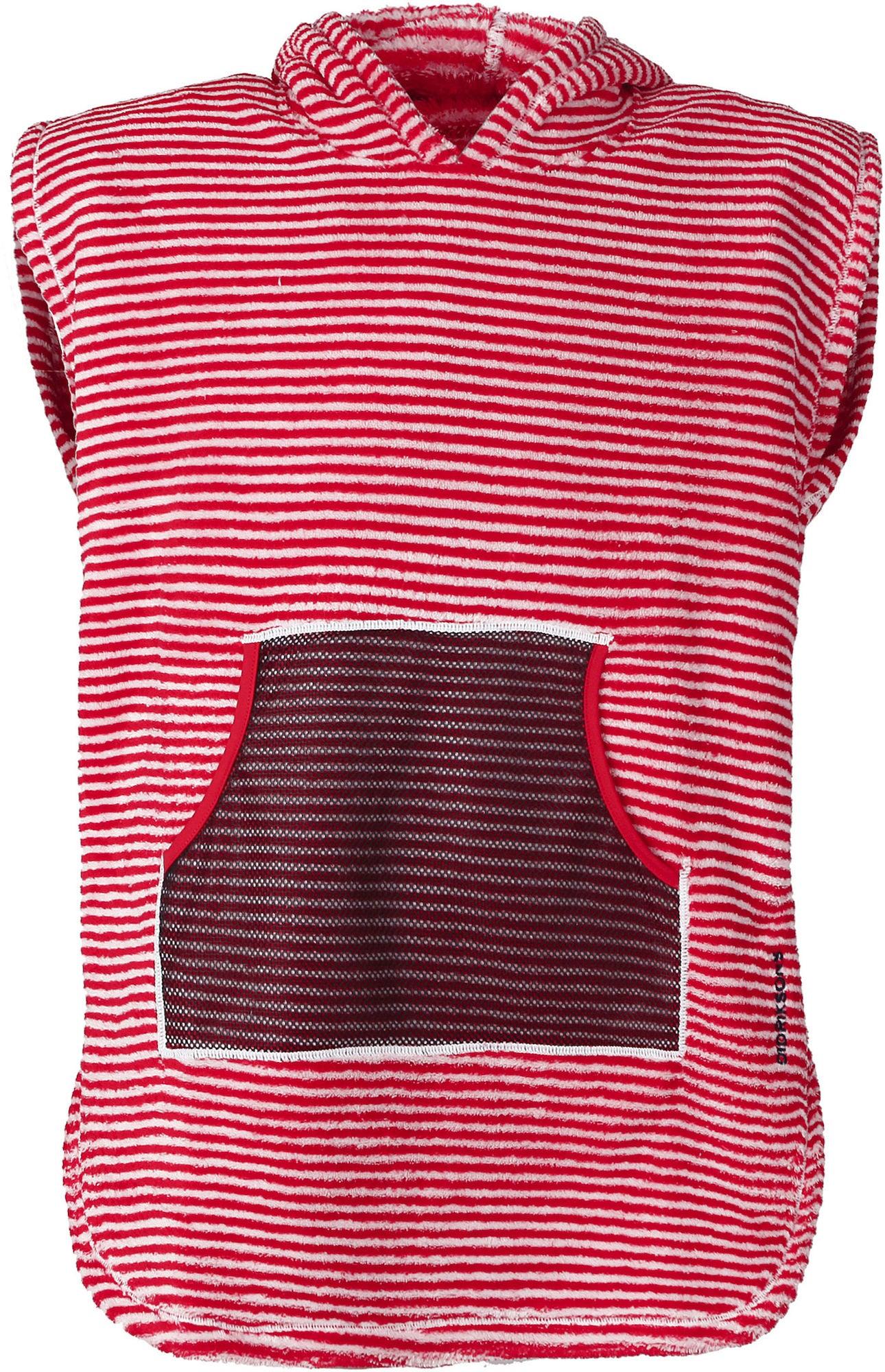 Didriksons Pier Poncho Chili Red 80-90
