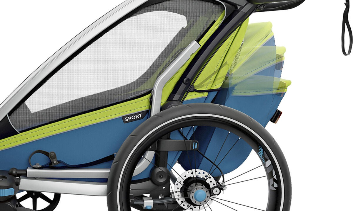 k p thule cykelvagn chariot sport1 chartreuse jollyroom. Black Bedroom Furniture Sets. Home Design Ideas