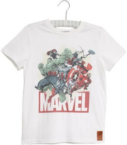 Wheat Marvel T-Shirt, White