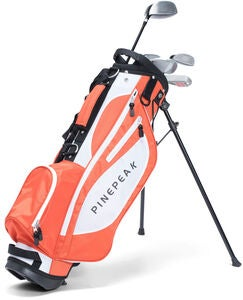 Pinepeak Golfset för Barn, Orange
