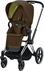 Cybex Priam Sittvagn, Khaki Green/Chrome Black