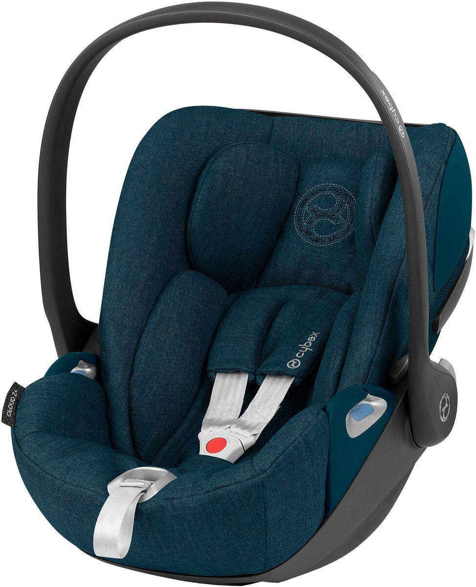 Cybex Cloud Z i-Size Plus Babyskydd, Mountain Blue