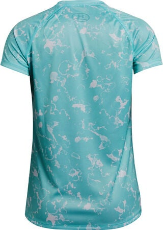 Under Armour Big Logo Tee Novelty SS Träningströja, Neo Turquoise