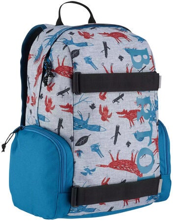 Burton Kids Emphasis Ryggsäck, Big Bad Wolf Print