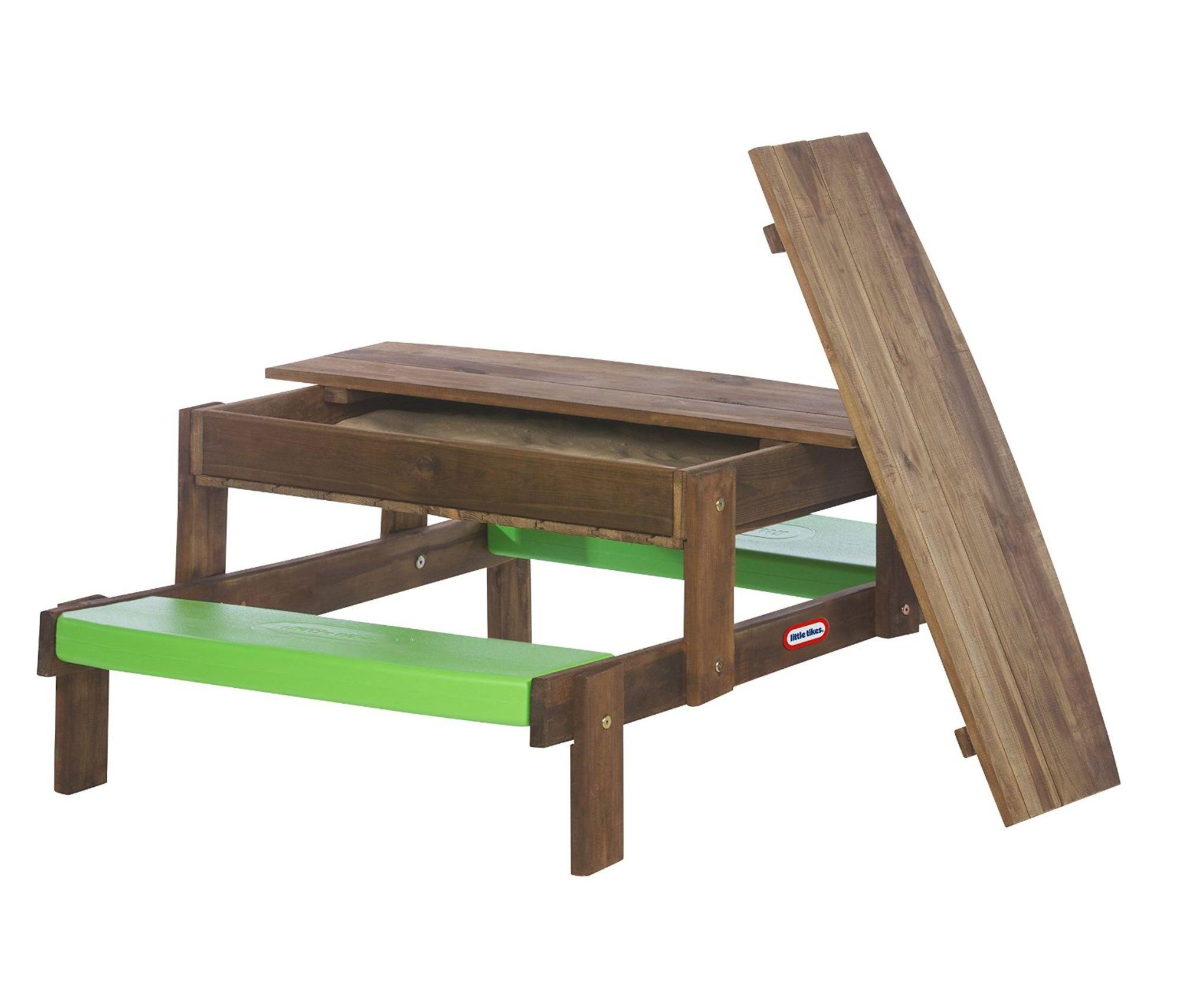 Little Tikes Sandlåda och Picknickbord i Trä