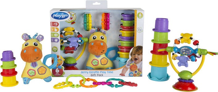 Playgro Jerry Giraffe Play Time Gift Pack
