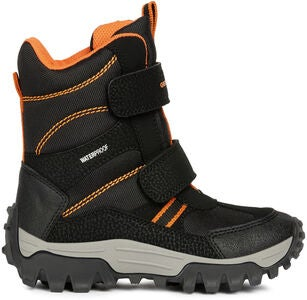 Geox Himalaya WPF Vinterstövel, Black/Orange