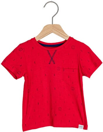 Ebbe Boston T-Shirt, Blue Anchors