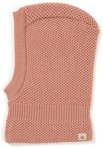 Huttelihut Double Layer Balaklava, Dusty Rose