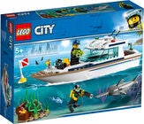 LEGO City Great Vehicles 60221 Dykaryacht