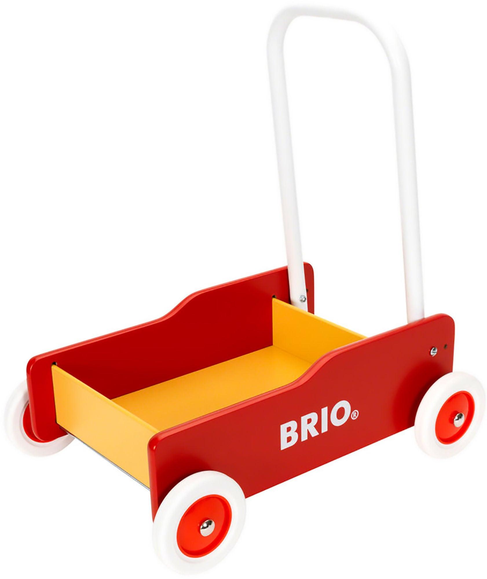 BRIO 31350 Lära-Gå-Vagn, Röd