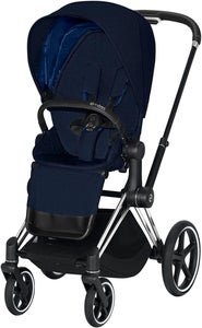 Cybex Priam Sittvagn Plus, Midnight Blue/Chrome Black