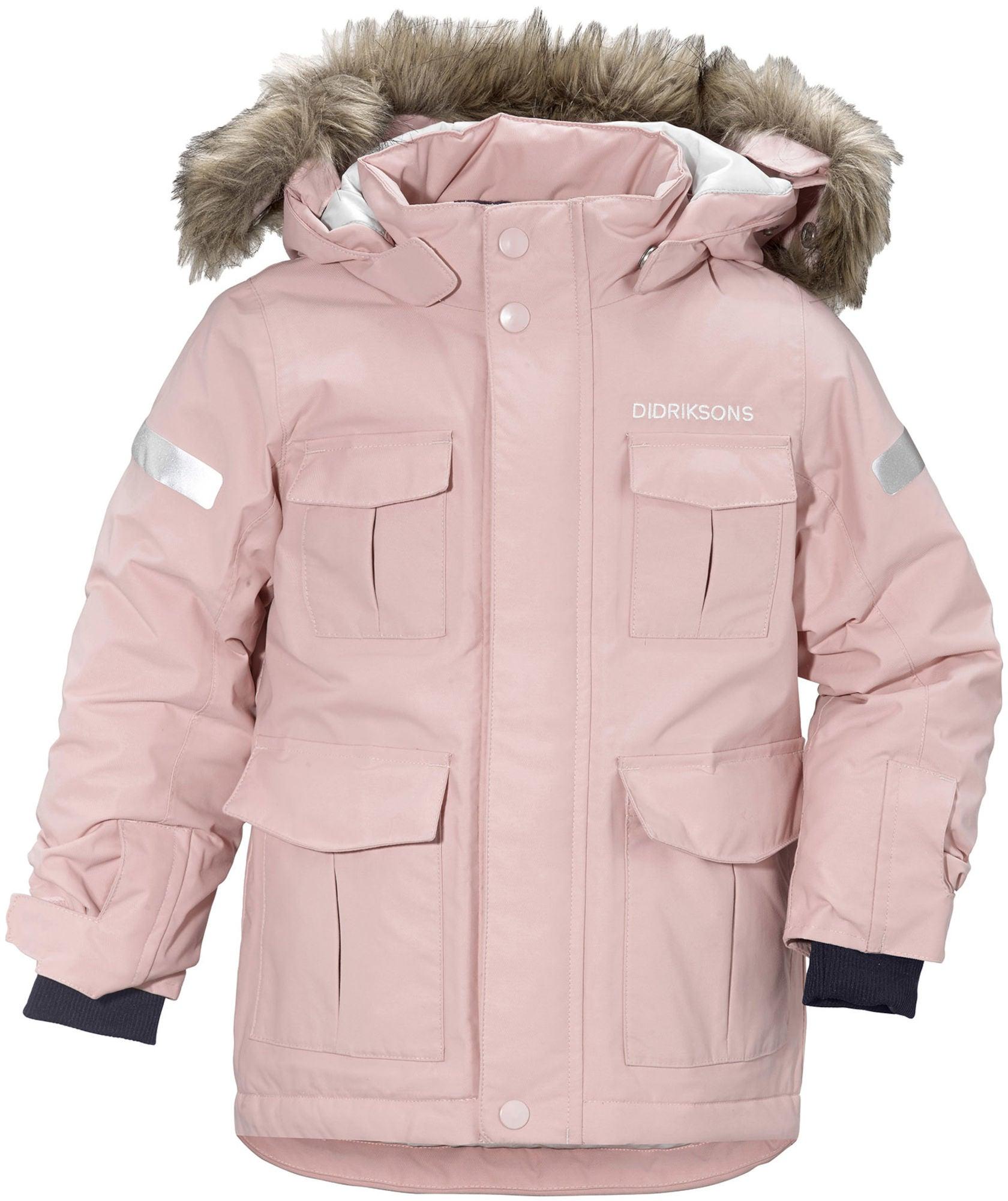 Köp Didriksons Nokosi Parka, Dusty Pink | Jollyroom