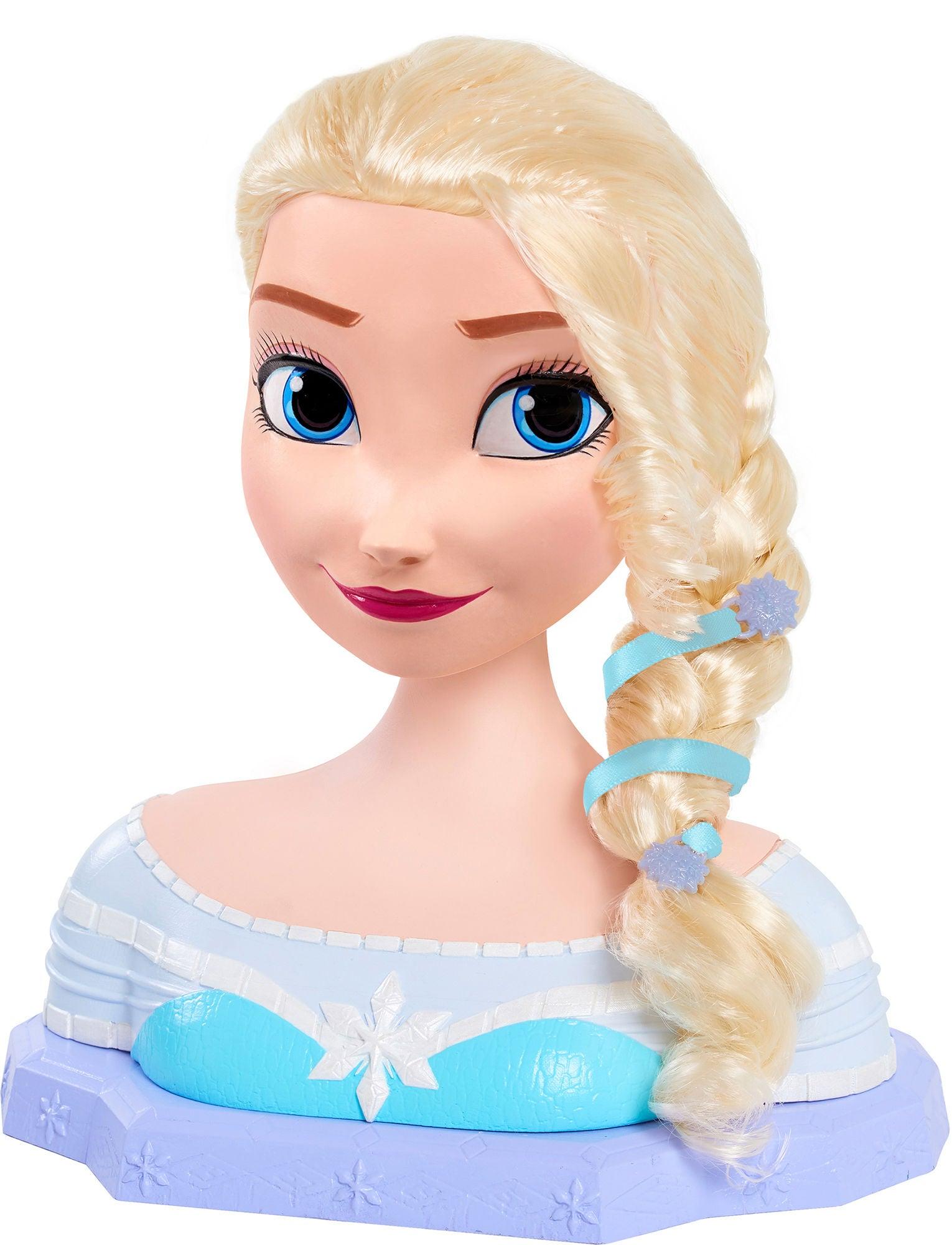 Disney Frozen Stylinghuvud Elsa Deluxe