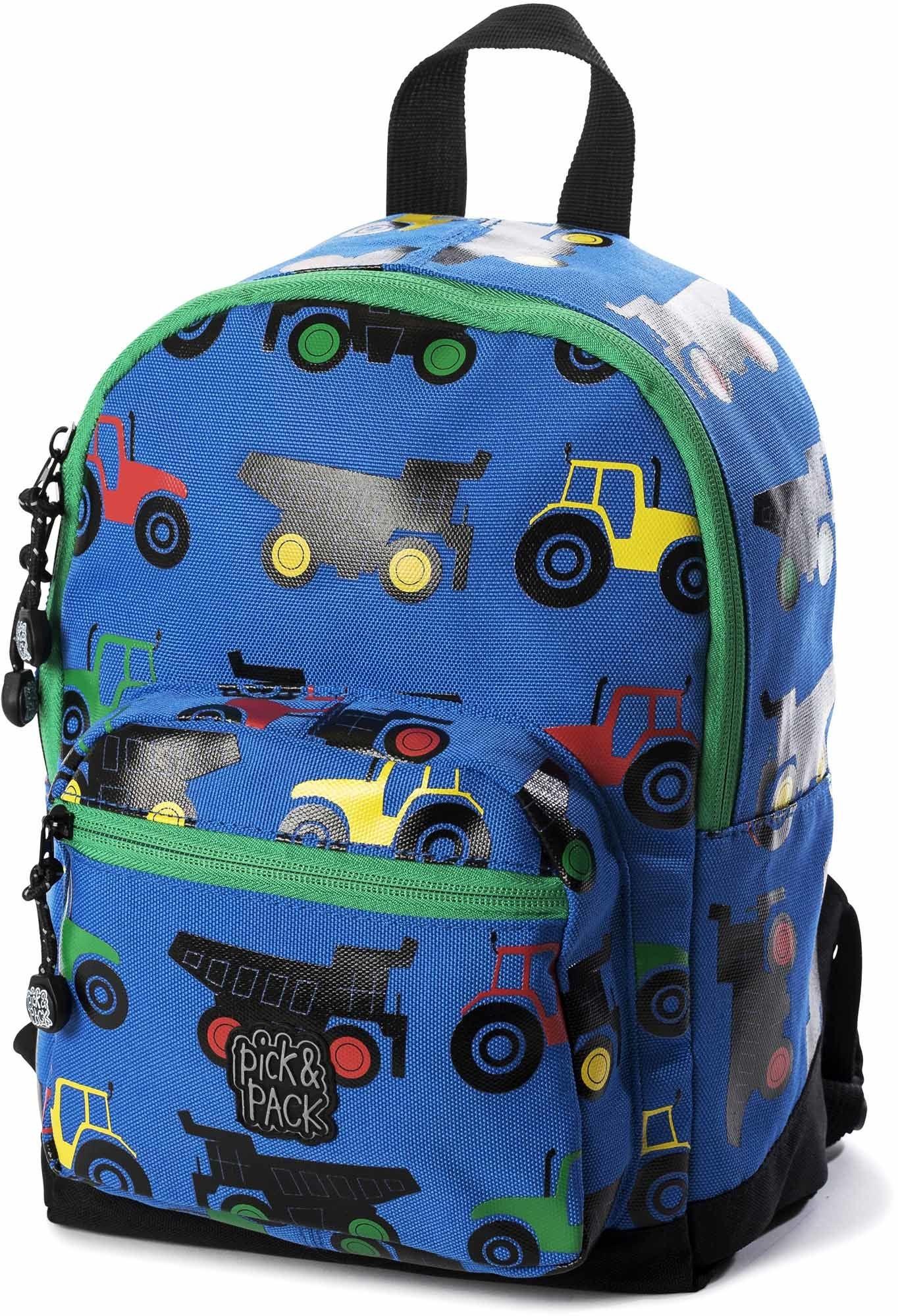 Pick & Pack Ryggsäck Traktor, Blue