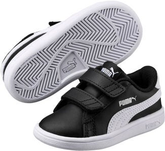 Puma Smash V2 L V PS Sneaker, Black/White