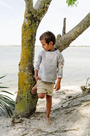 Ebbe Soda Shorts Chinos, Sand Fog